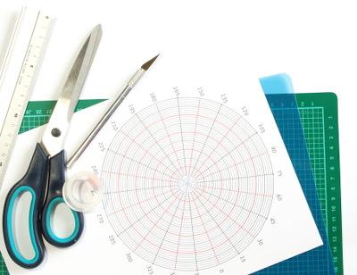 Werkzeug für die Zendala Schablone