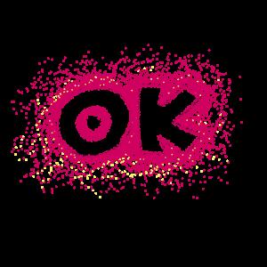 ok - pink stippling