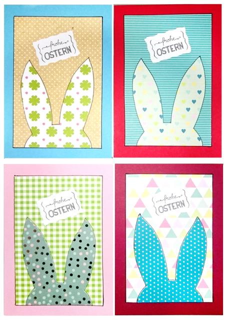 Osterkarten mit Handlettering von Christiane