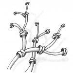 Zentangle Muster Pendrills