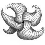 Zentangle Muster Trelina