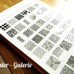 Zentangle inspirierte Muster-Galerie