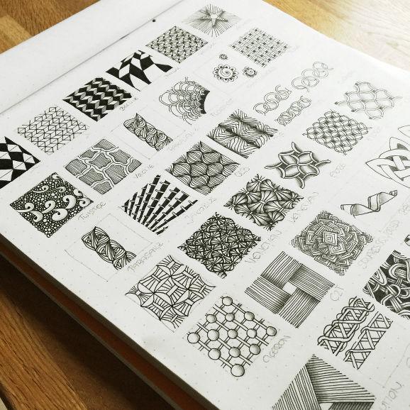 Zentangle Muster-Verzeichnis