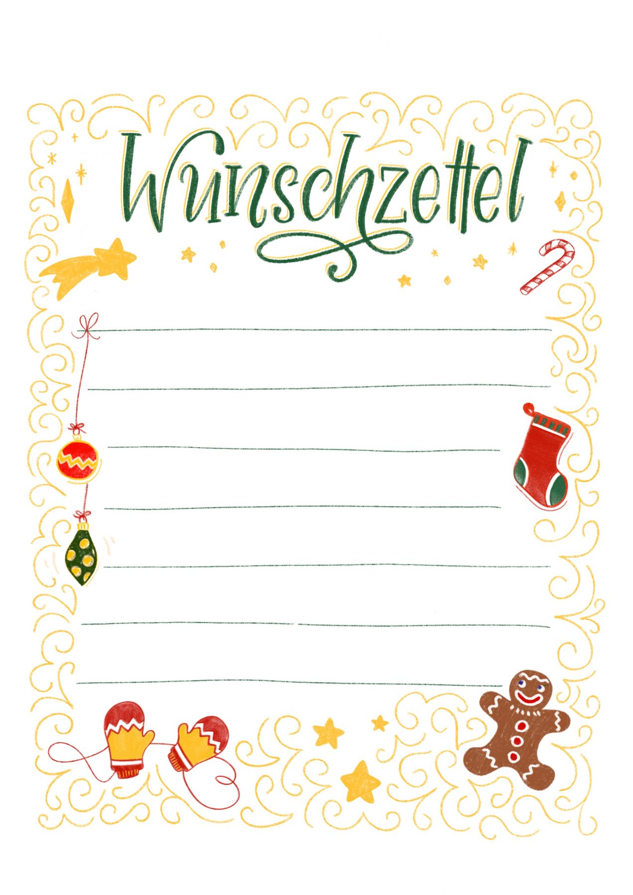 Personalisieter Brief Vom Christkind Fur Ihr Kind 8