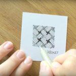 Zeitraffer Video Zentangle® Muster Wisket