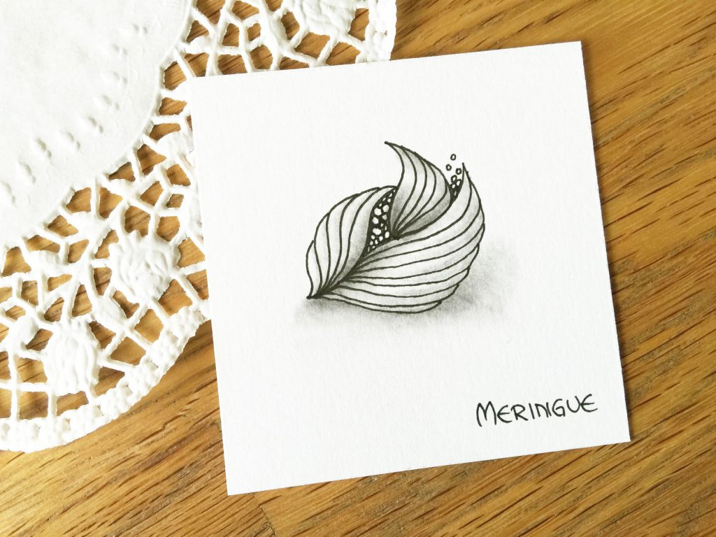Meringue Zentangle Muster