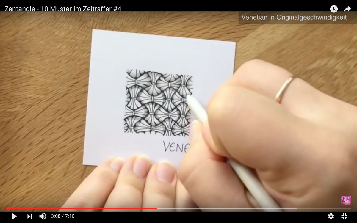 Die 5 meistgesehenen Zentangle® Videos   Bunte Galerie