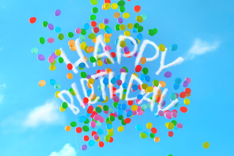 happy birthday - iPad Lettering | Bunte Galerie