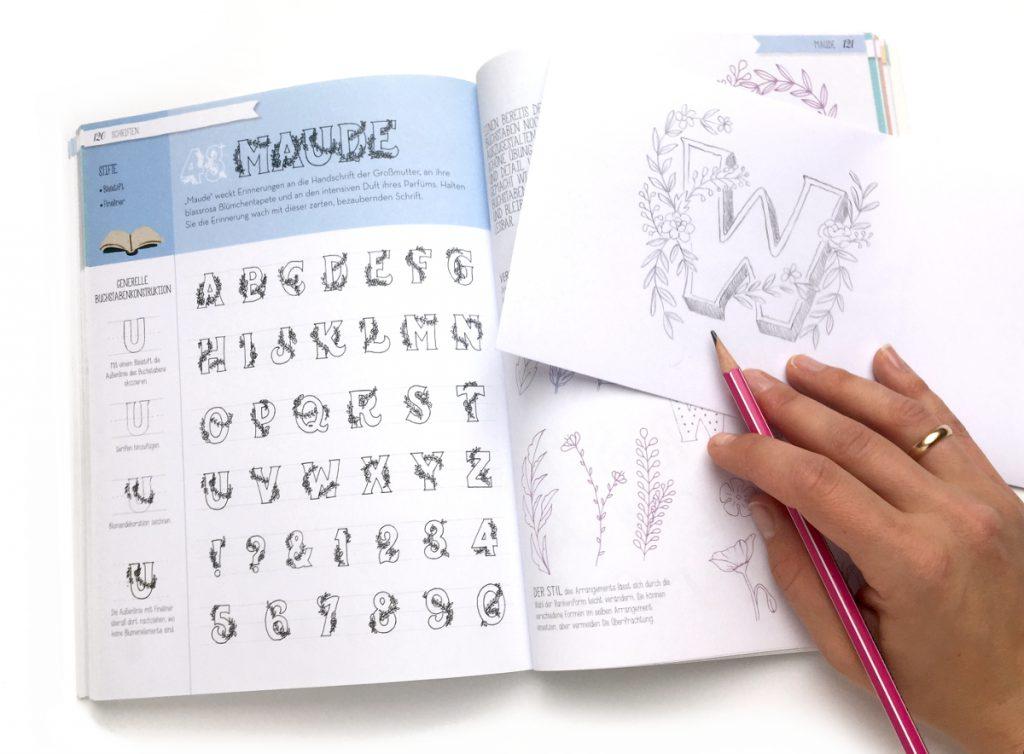 Handlettering Buch - Maude