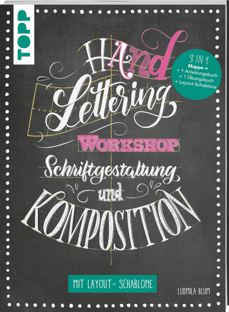 Handlettering Workshop Schriftgestaltung und Komposition - Ludmila Blum