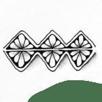 Zentangle Muster Batumba