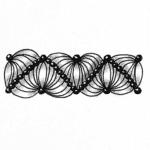 Zentangle Muster Drogon