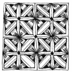 Zentangle Muster Kaas
