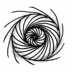 Zentangle Muster Niuroda