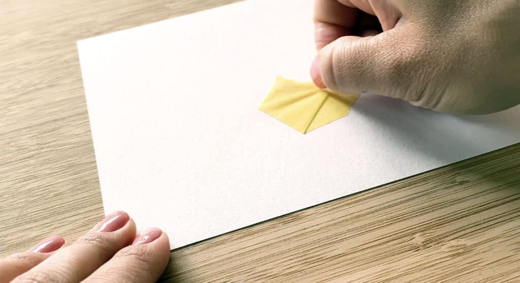 Tape Test - hält das Aquarellpapier dem Klebeband stand?